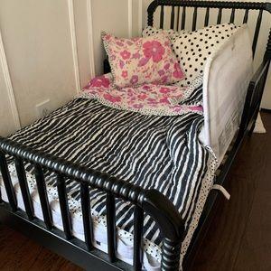 Anthropologie Toddler Quilt, Sham and Bedding